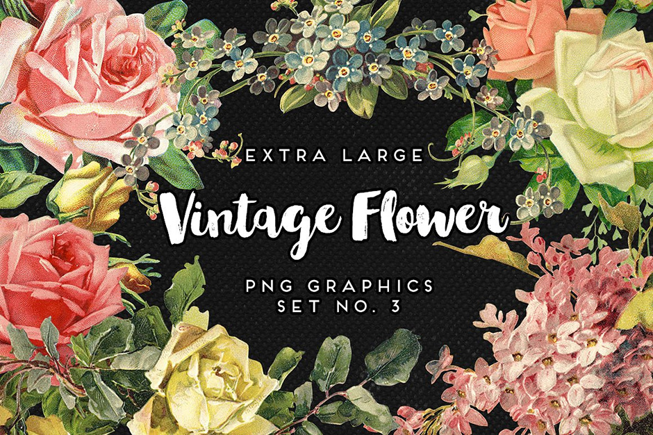 Large-Vintage-Flowers-5-first-image