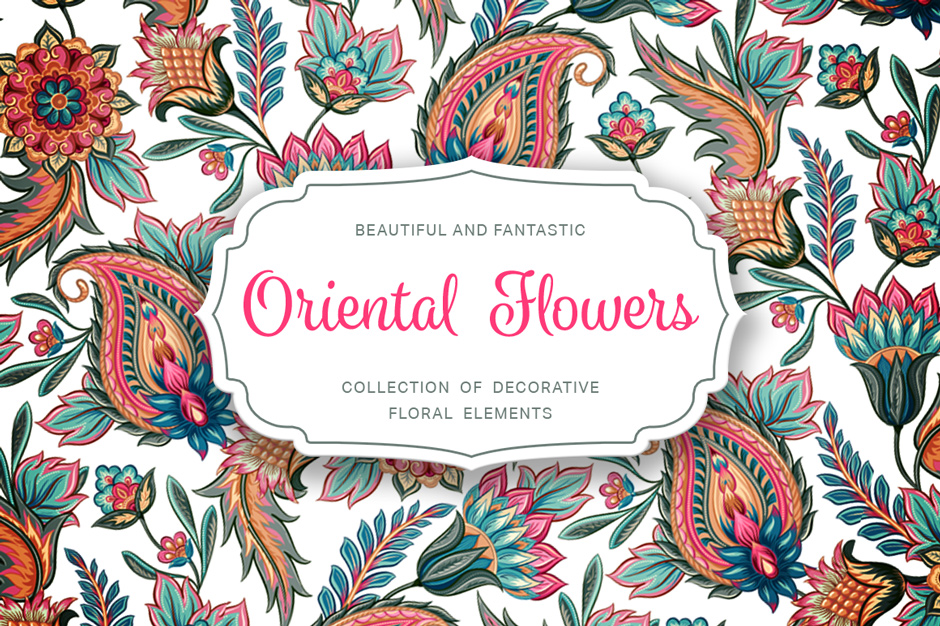 oriental flowers  design cuts design cuts, Beautiful flower