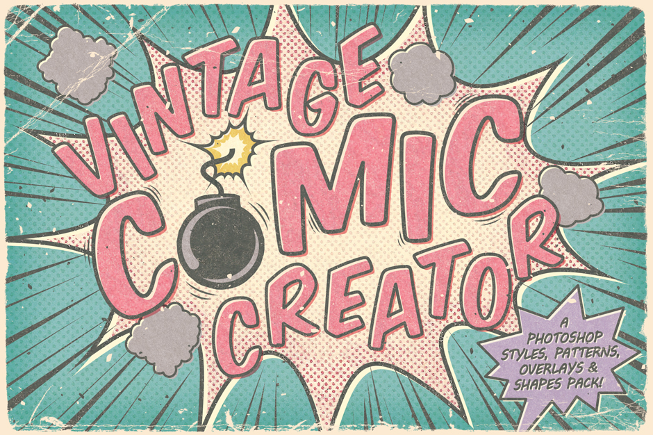 Vintage Comic Creator first-image