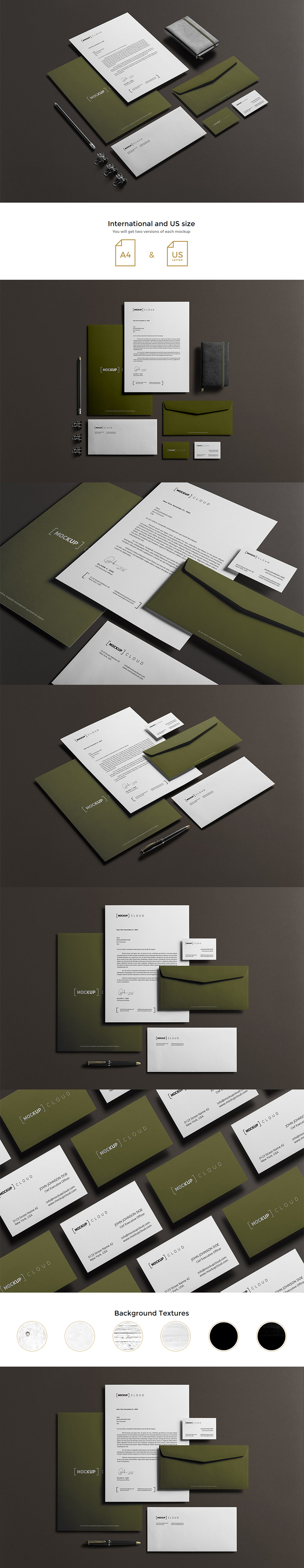Corporate Stationery Mock Up