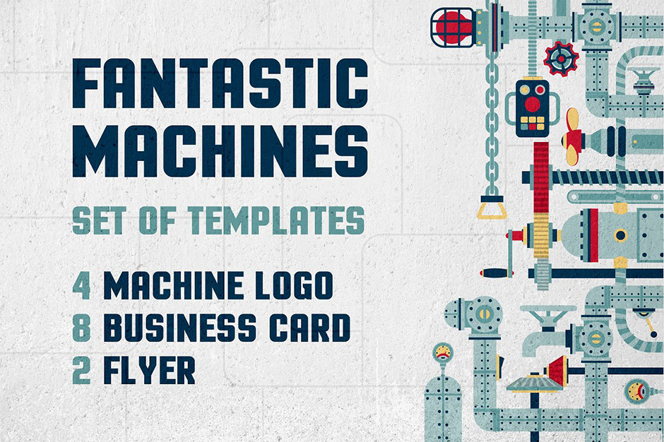 Fantastic Machine Templates