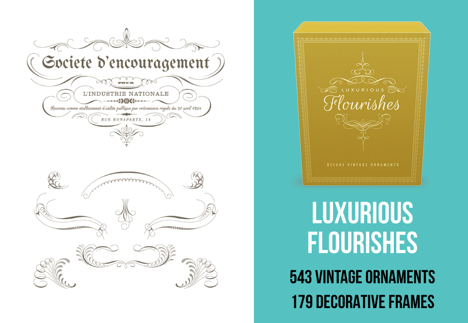 Luxurious Flourishes Pack