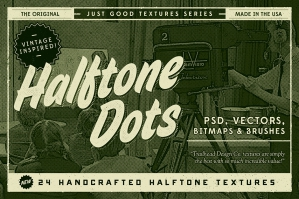 Just Good Textures Halftone Dots