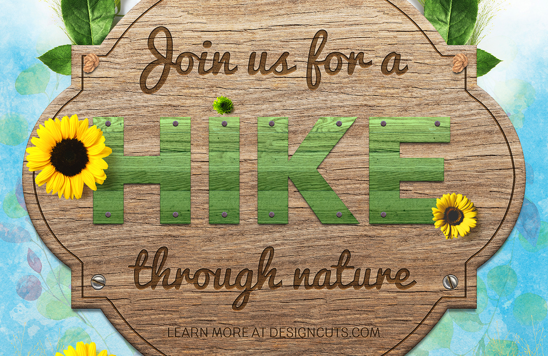 Poster design nature - Design A Nature Inspired Event Poster In Photoshop