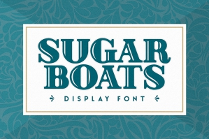 Sugar Boats Display Font
