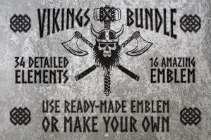 Viking Graphics Bundle