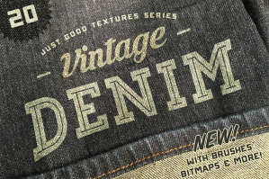 Just Good Textures Vintage Denim Textures
