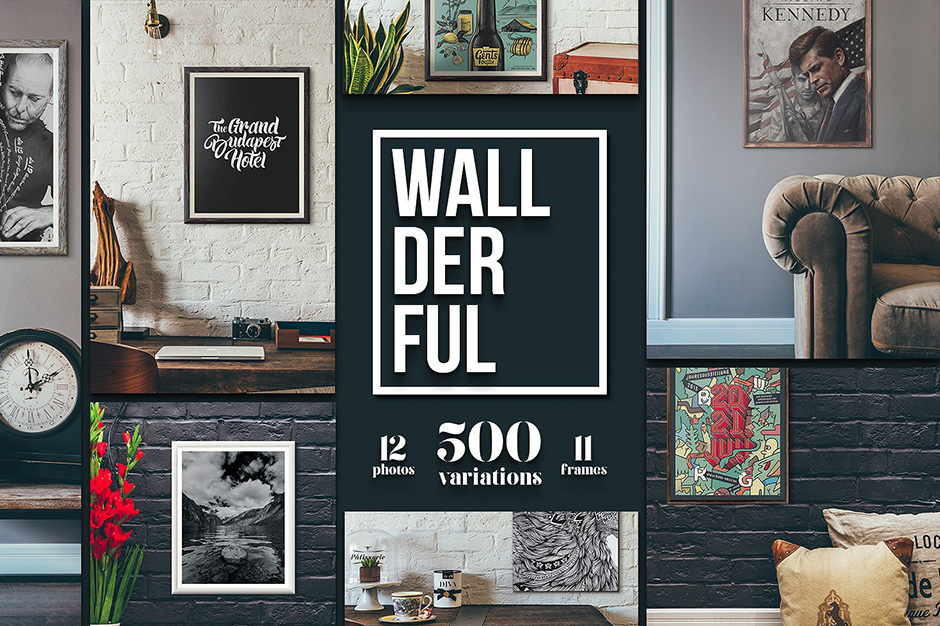 Wallderful Frames and Mockups