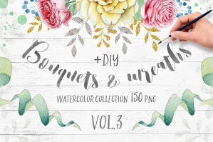 Wreaths and Bouquets Collection V.3