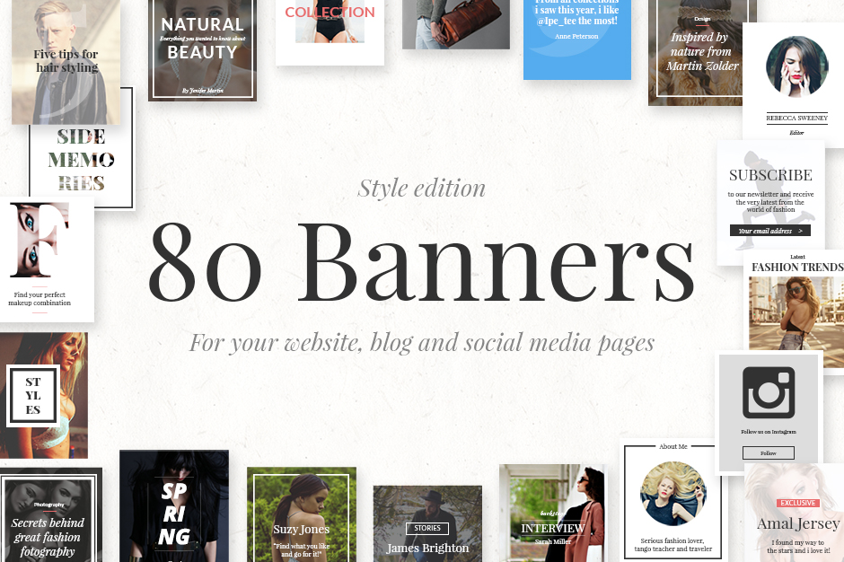 80 Banners Style Edition