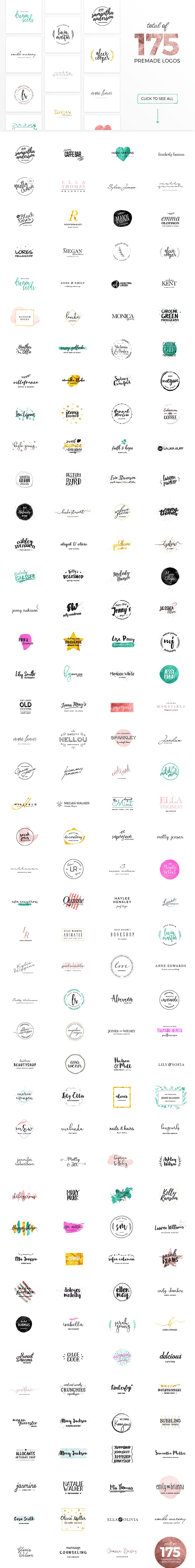 The Humongous Girlpreneurs Logo Pack