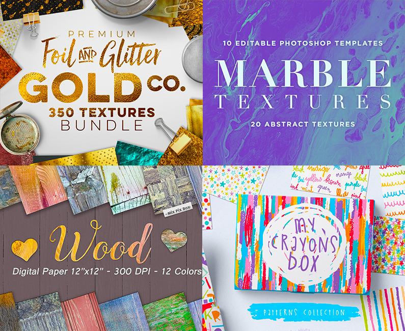 The Ultimate Textures, Patterns and Backgrounds Bundle (Rerun)