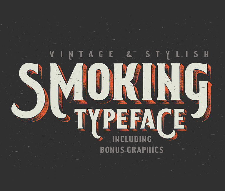 Smoking-Typeface-top-image