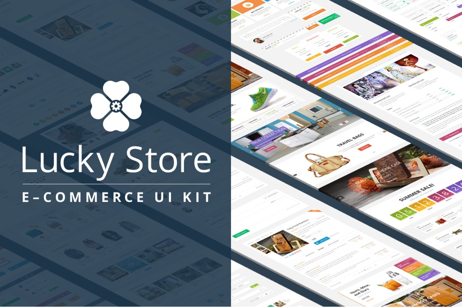 Lucky Store UI Kit