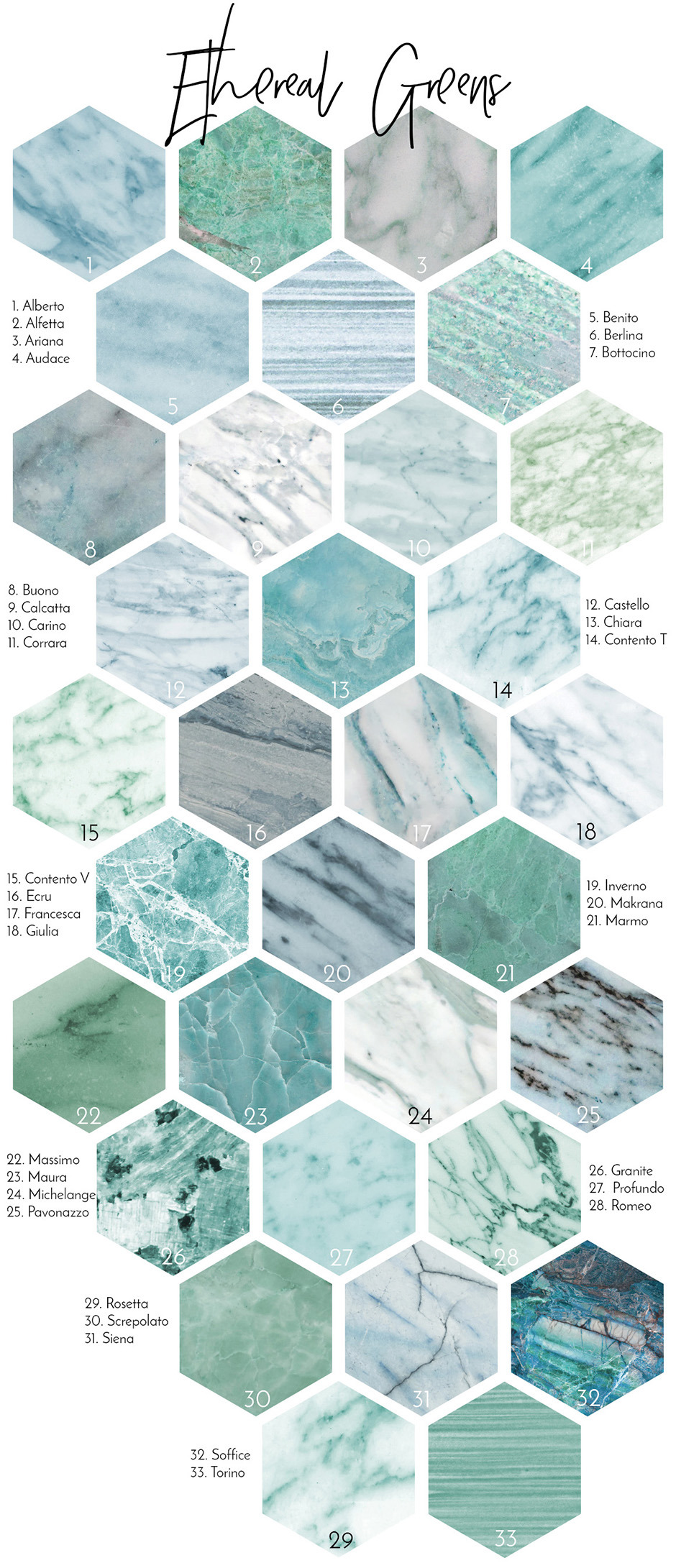 Marble Backgrounds & Styles