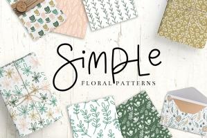 Simple Floral Patterns
