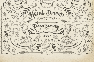 Hand-drawn Vector Design Elements