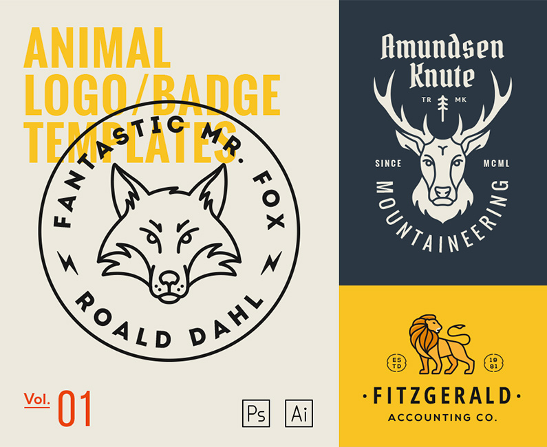 Animal-Logo-Badge-Templates-Vol1-top-image