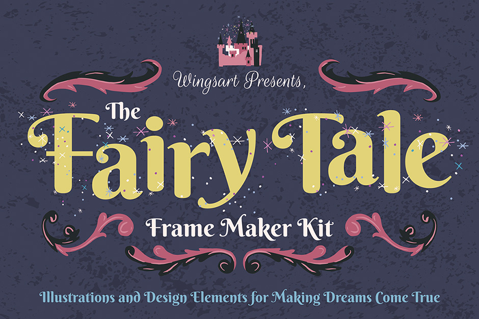 Fairytale Frames and Illustrations