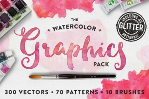 The Watercolor Graphics Pack