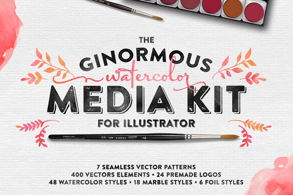 The Watercolor Media Kit for AI