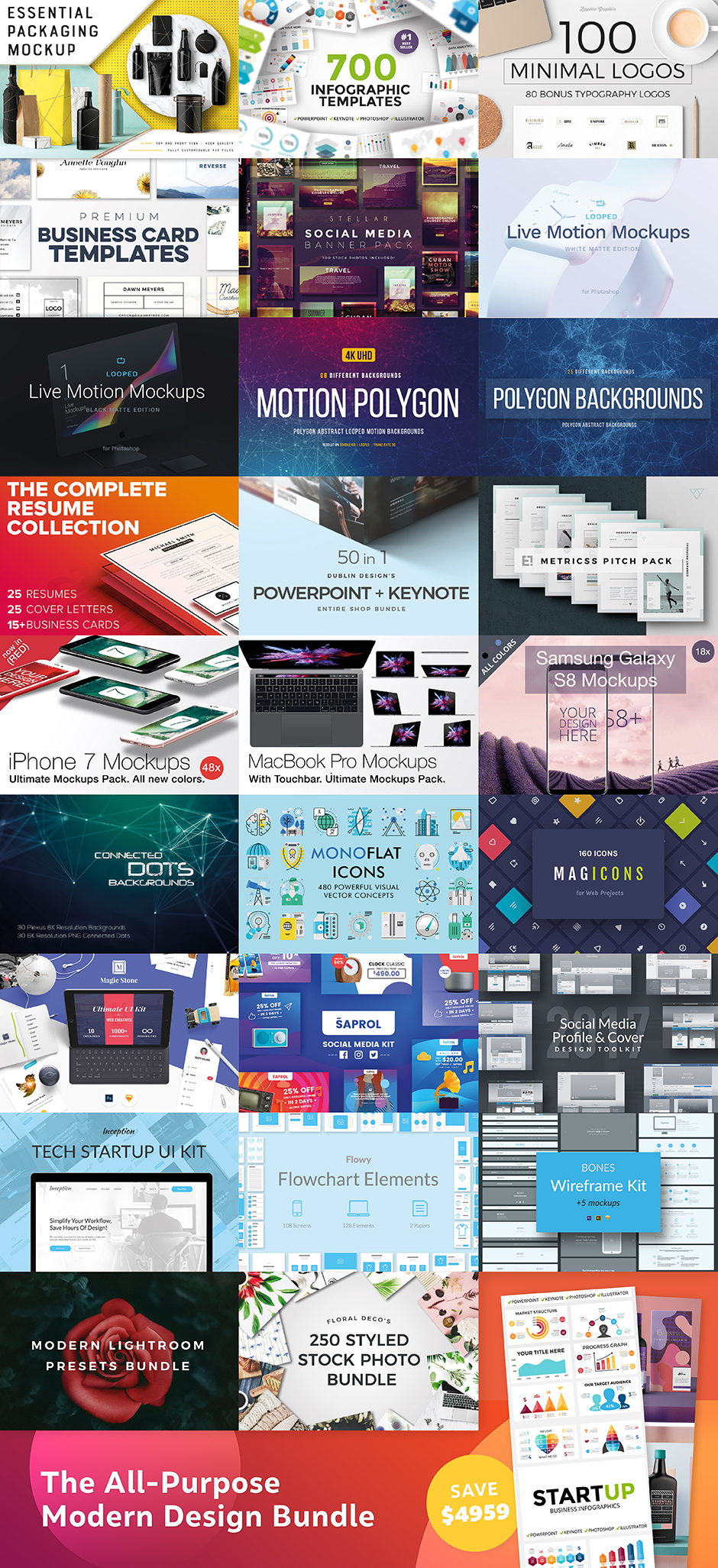 The All-Purpose Modern Design Bundle - Design Cuts