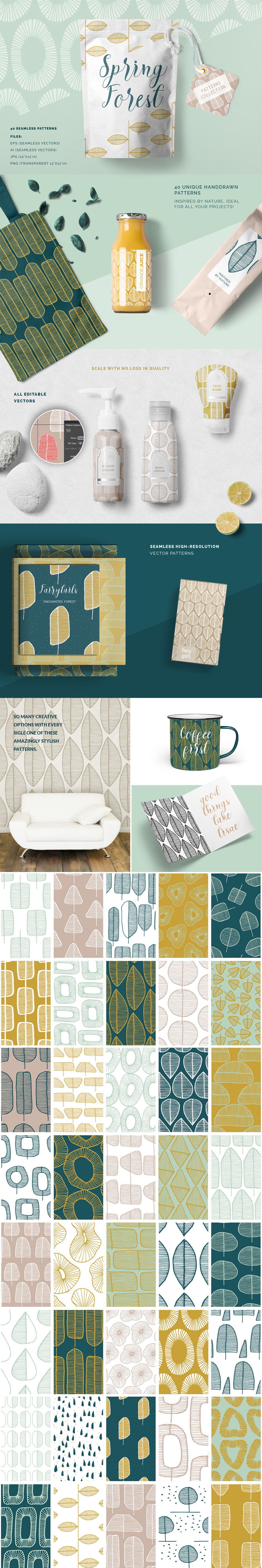 The Comprehensive Texture and Patterns Collection