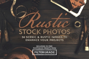 Rustic Images with FilterGrade Photoshop Presets Bonus