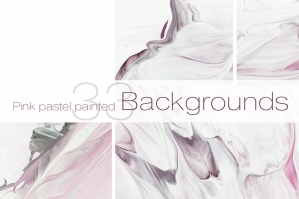 33 Pastel Painted Backgrounds