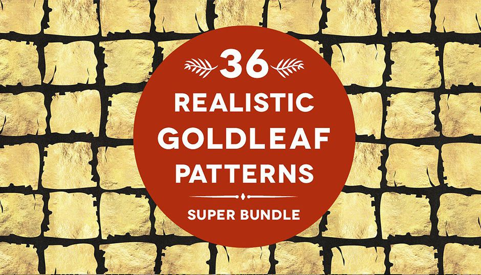 36RealisticGoldleafPatterns-First-Image