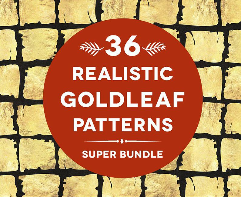 36RealisticGoldleafPatterns-Top-Image