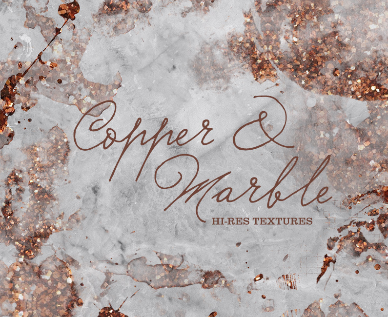 Copper & Marble textures