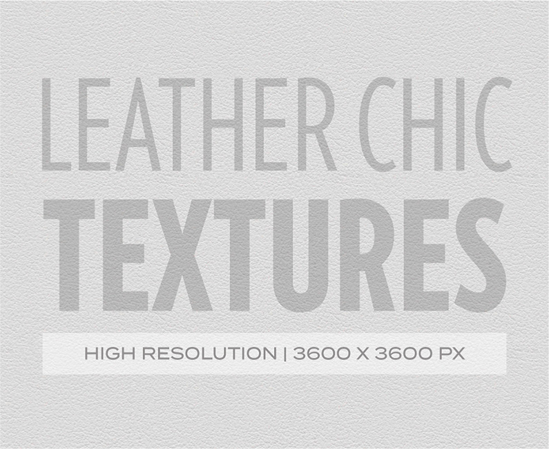 Leather Chic textures