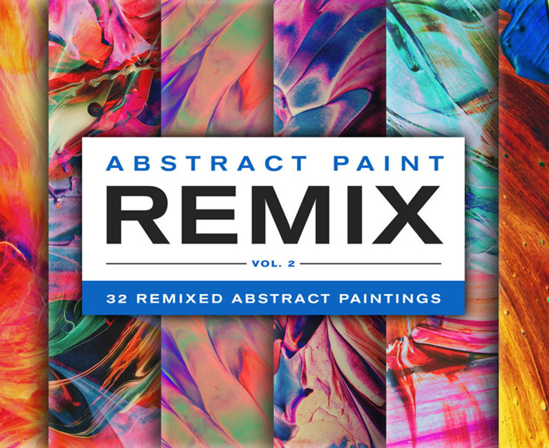 Product-Images_Abstract-Paint-Remix_Vol-2_dribbb-first-image