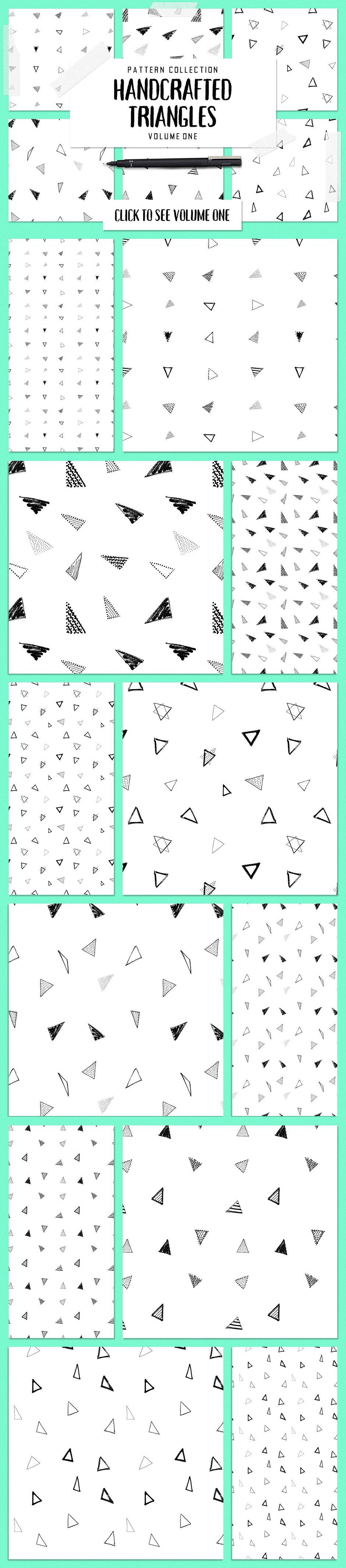 The Mega Mix Match Vector Triangles Pack