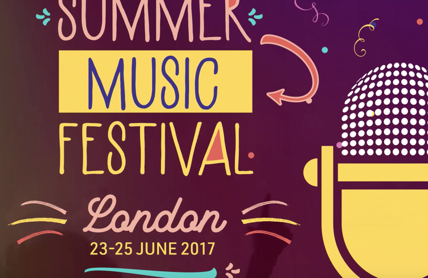 create a summer music festival poster in adobe illustrator and