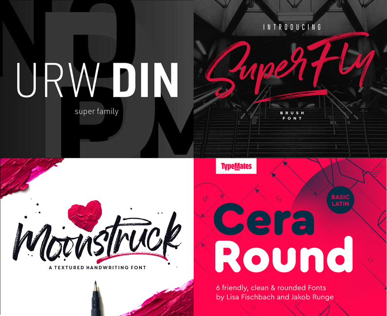The Exceptional, Best-Selling Font Selection (Rerun)