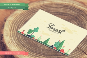 Forest Elements Constructor Kit