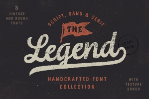 The Legend Font Trio: American Typography
