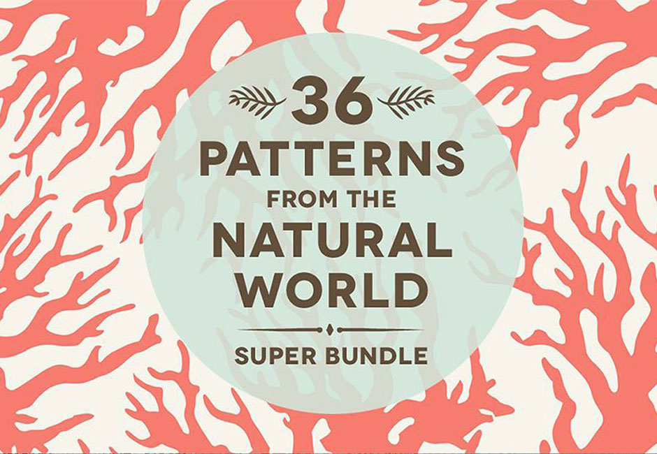 36 Natural Animal Pattern Bundle