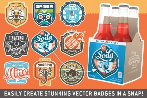 Magnificent Mix & Match Badges Kit