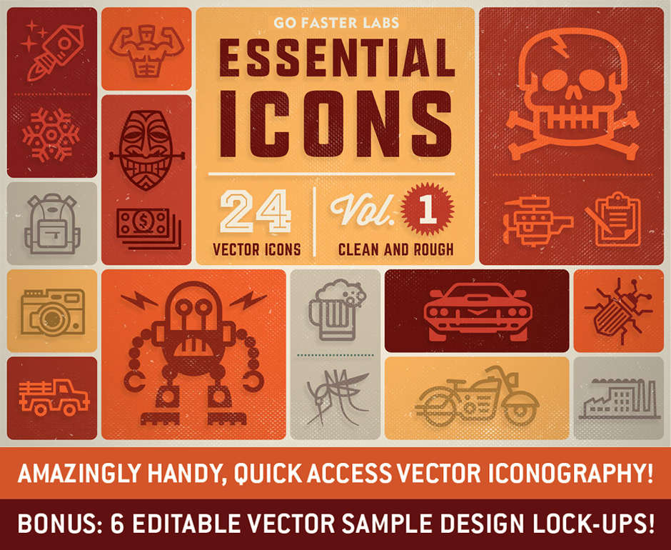 Essential Icons Vol. 1