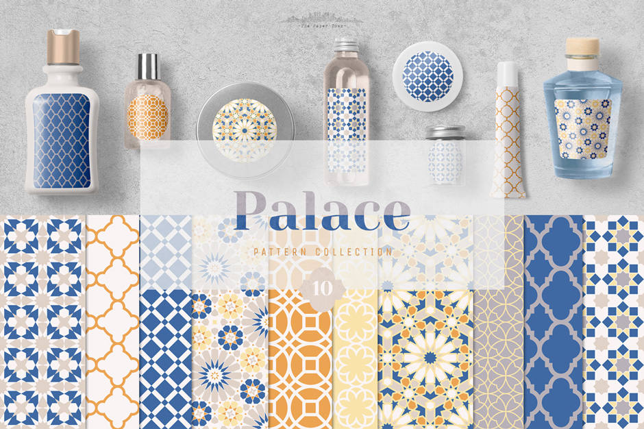 Seamless Moroccan Mosaic Patterns