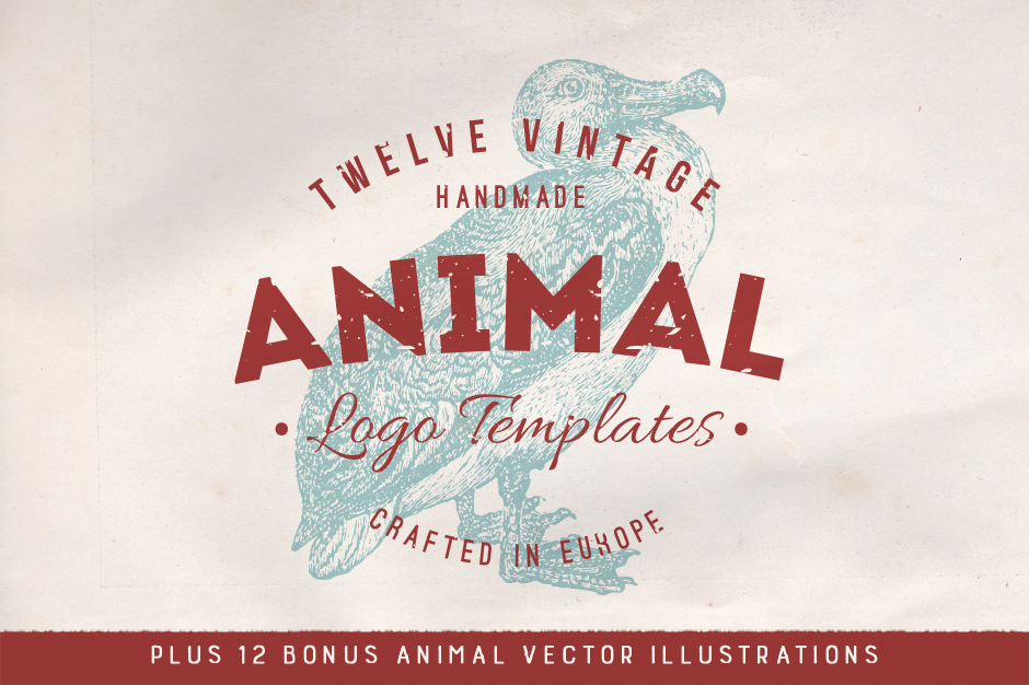 Animal Logo Badges & Bonus Vectors