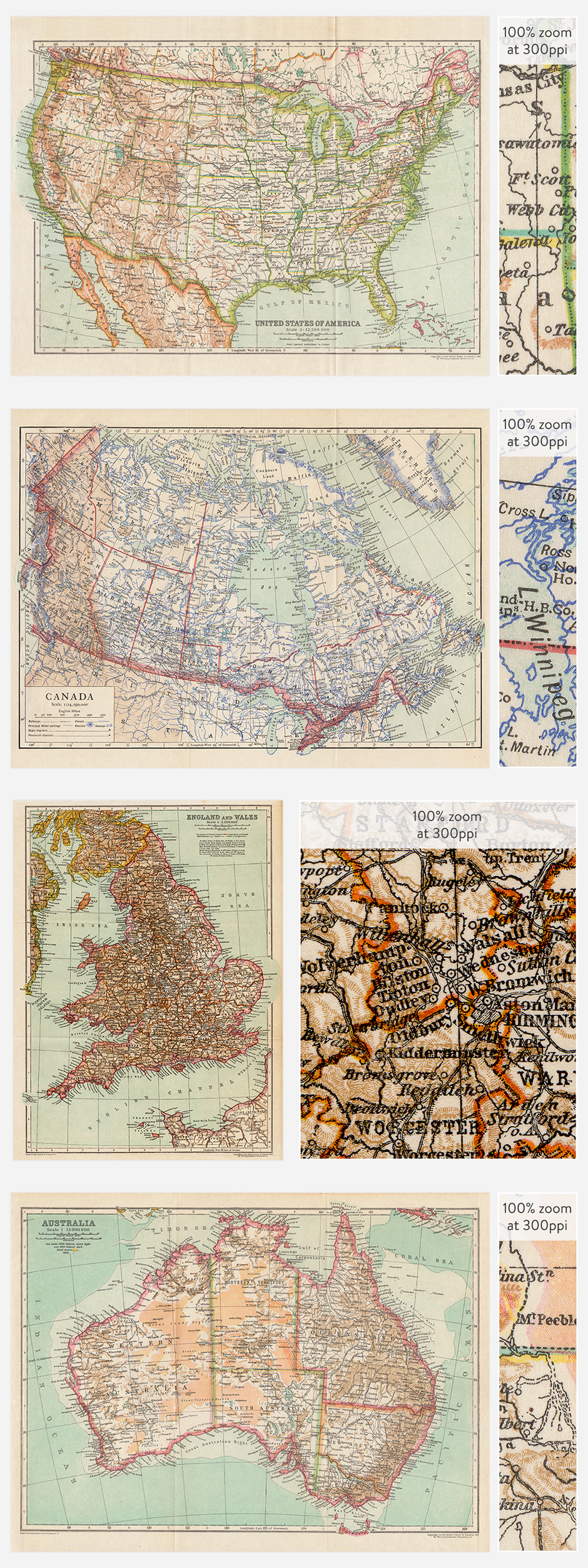 Antique Maps Vol. 2