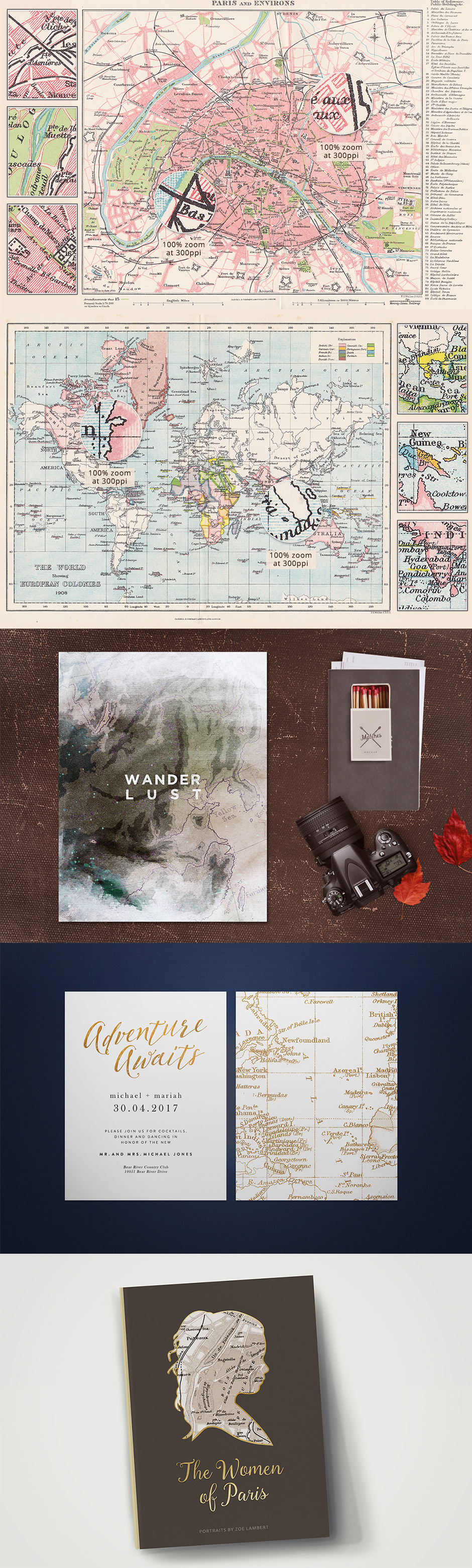 Antique Maps Vol. 1