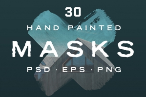 Hand Painted Masks Vol. 2