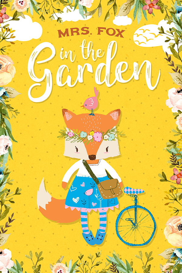 Mrs. Fox in the Garden