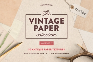 The Vintage Paper Collection Vol. 2