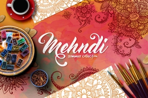 Mehndi Henna Elements, Summer Collection